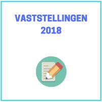 Vaststellingen 2018